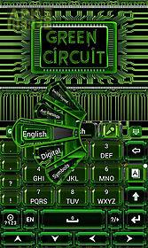 green circuit keyboard theme