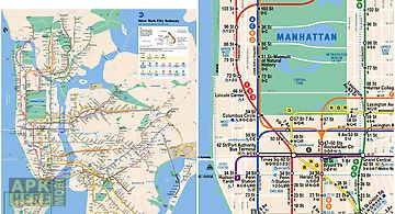 Basic Nyc Subway Map App.Nyc Bus Subway Maps For Android Free Download At Apk Here Store