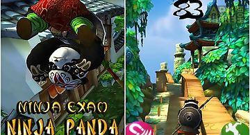 Ninja panda run: ninja exam