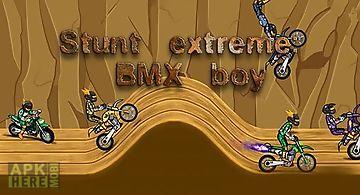 Stunt extreme: bmx boy