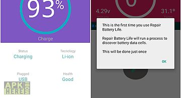 Advanced repair battery life