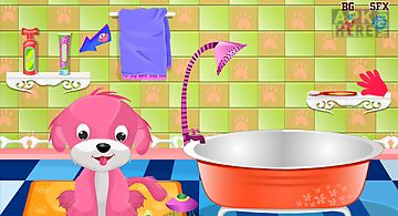 Cute puppy games for girls