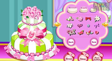 Rose wedding cake game