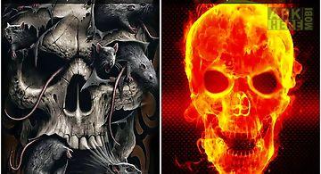 Skull screen lock