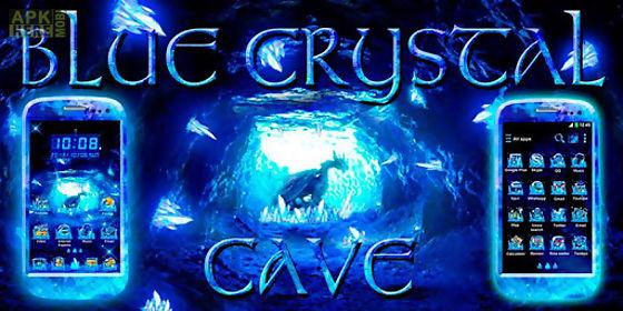 blue crystal cave go theme