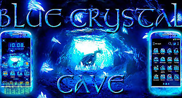 Blue crystal cave go theme