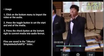 Convert video or audio to mp3
