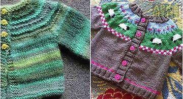 Diy crochet baby sweater