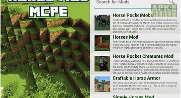 Horse mod for mcpe.