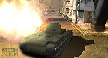 Tank mission 3d - furious war