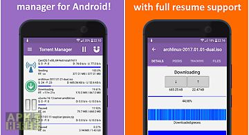 Torrent downloader android