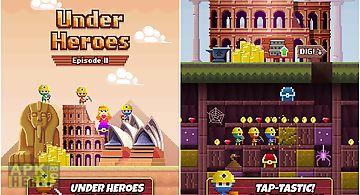 Under heroes - digging game