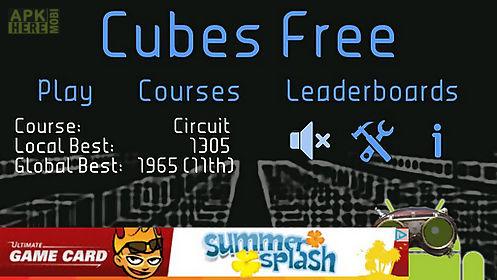 cubes free