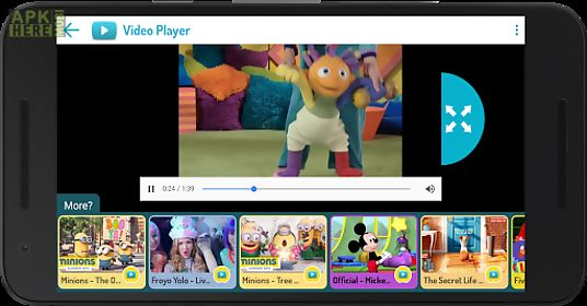 Kidoz tv: best videos for kids for Android free download at