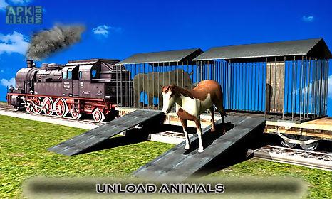 animal transport train