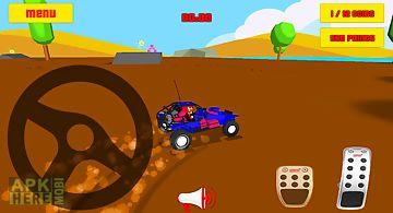 Baby car fun 3d - racing game