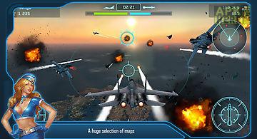 Battle of warplanes: air wings
