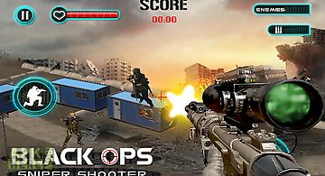 Black ops sniper shooter 3d