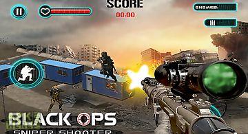 Black ops sniper shooter 3d