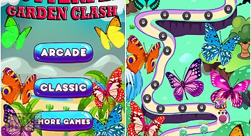 Butterfly garden clash