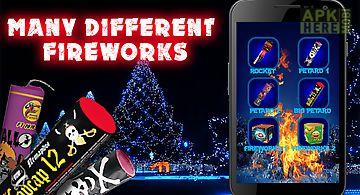 Christmas fireworks explosion