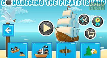 Conquering the pirate island