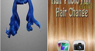 Hair photo fun - hair change