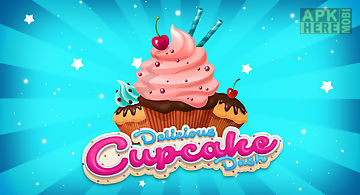 Happy cupcake