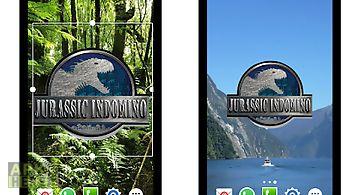 Jurassic indomino widget world