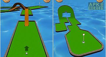 Mini golf stars: retro golf