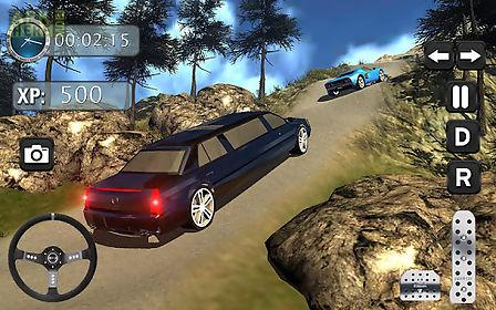 offroad hill climb limo drive