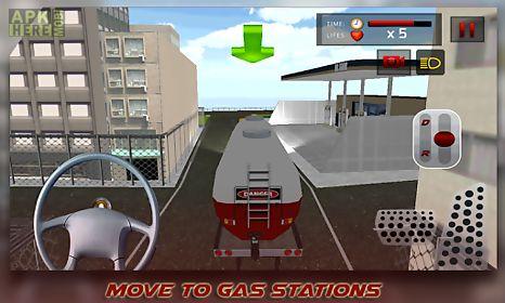oil tanker transporter sim 3d