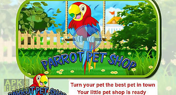 Pet parrot - 2d pet simulator