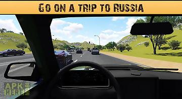 Russian voyage on lada vaz
