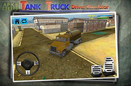 tank truck driver simulator