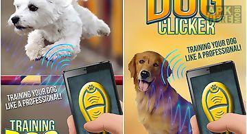 Training dog clicker