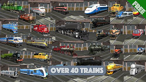 Train sim for Android free download at Apk Here store