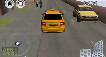 Free crazy town taxi parking