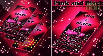 Pink black keyboards