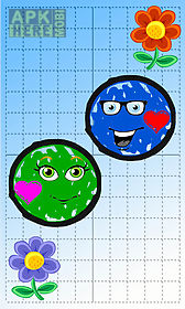 doodle ball puzzle - jump to bump the loving balls
