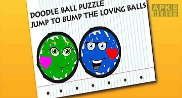 Doodle ball puzzle - jump to bum..
