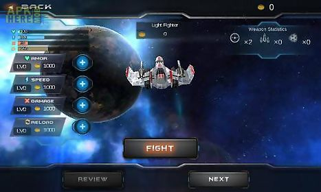 galaxy war: star space fighters