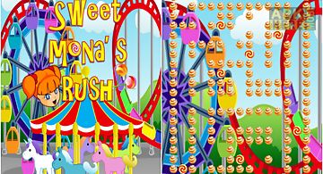 Mona sweet candy rush game free