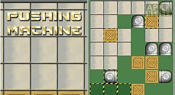 Pushing machine