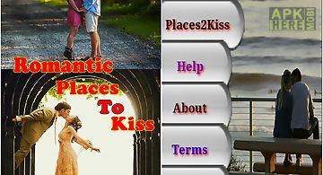 Romantic places to kiss