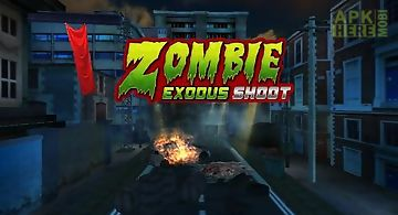 Zombie exodus shoot