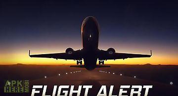 Flight alert simulator 3d