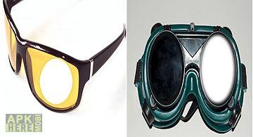 Goggles photo frame