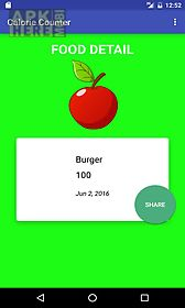 my calorie counter