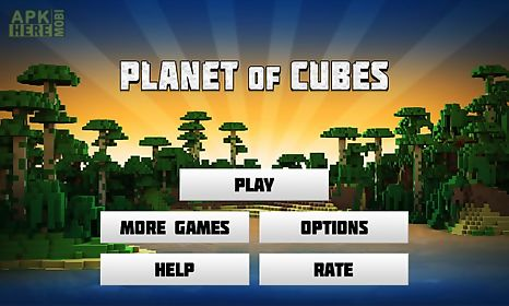 planet of cubes